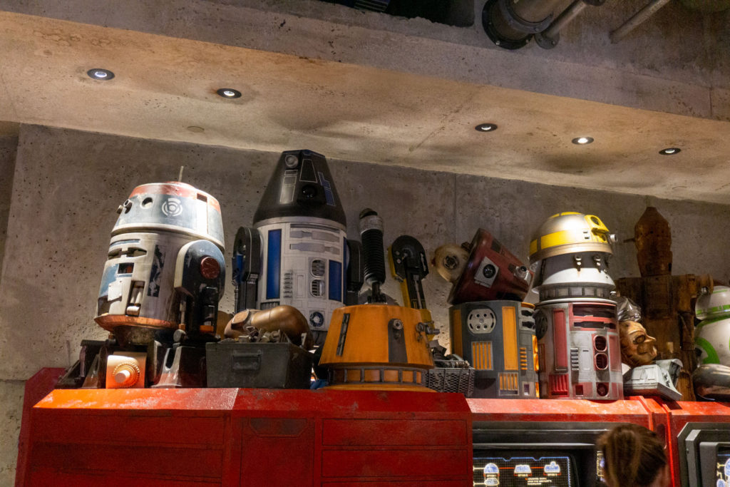 Droids at Star Wars Land