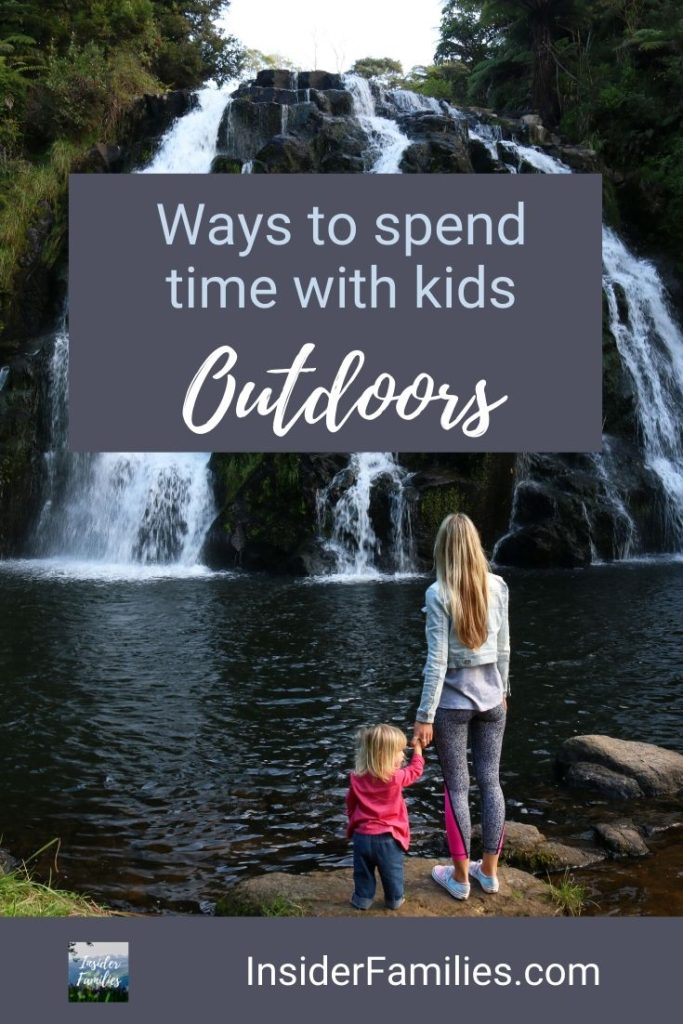 Kids are spending more time indoors. Find out some of the ways to spend time with your kids outdoors with fun outdoor activities for kids that they will love. #Outdoorkids #nature