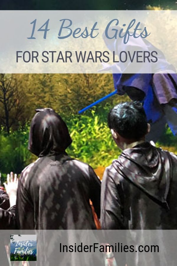 Looking for Star Wars gift ideas. Here are 14 of the best Star Wars presents for kids and adults alike! #StarWars