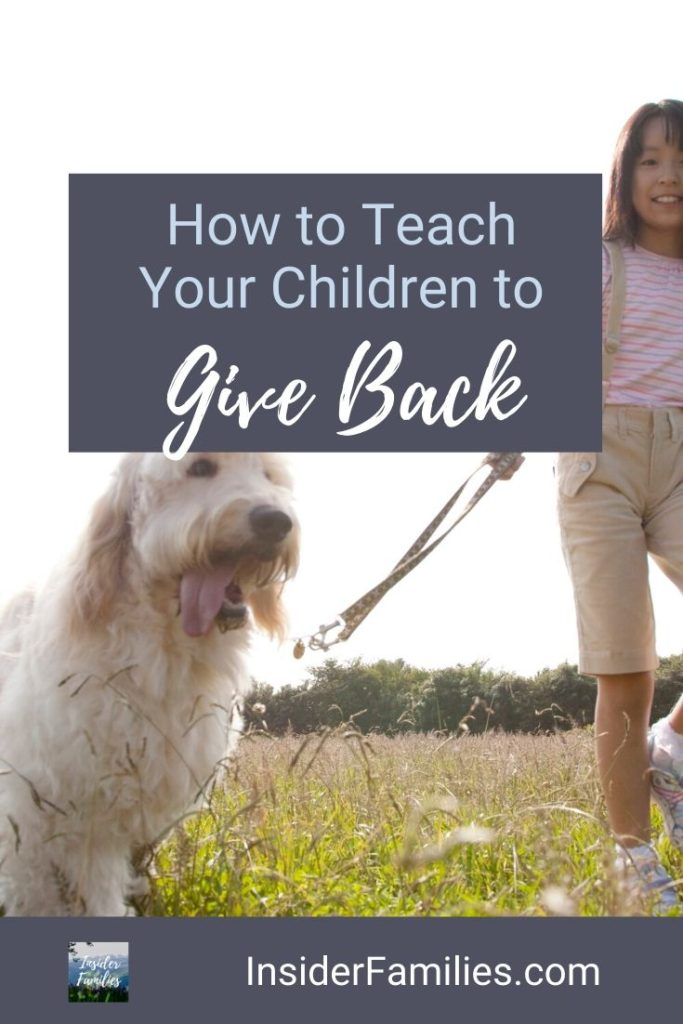 Generous kids are inspiring. Watching your child comfort another, or put another first should melt your heart. How to teach your children to give back!
