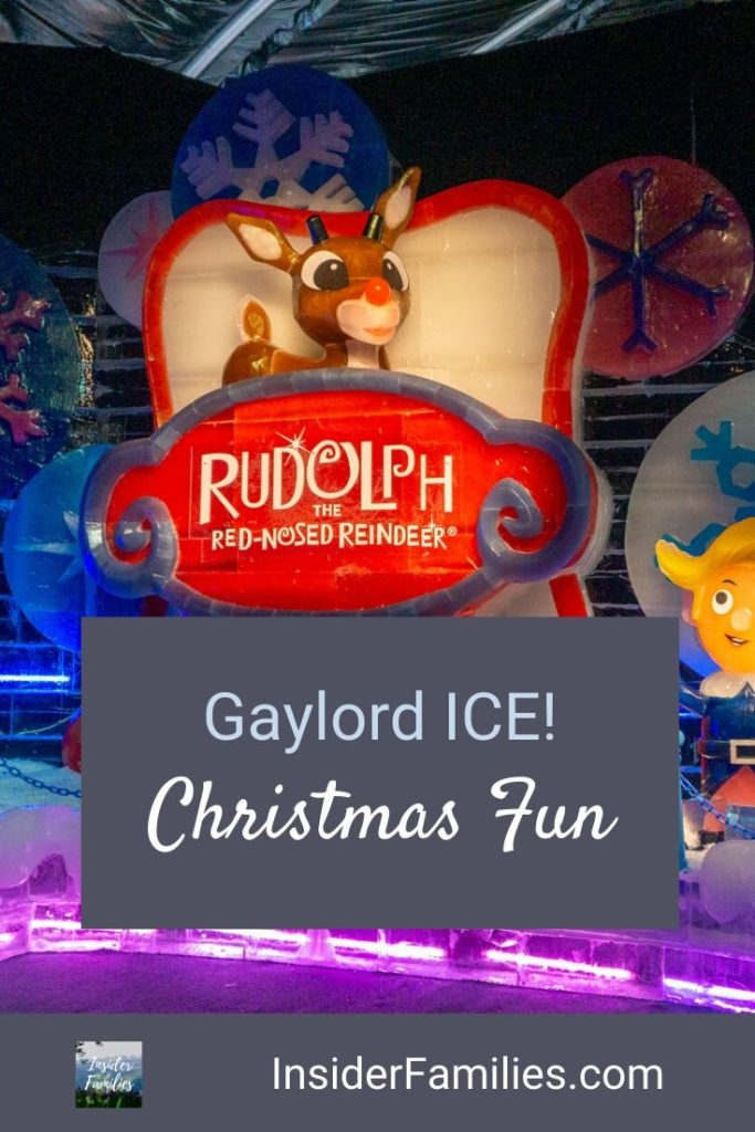 Gaylord ICE debuts at the Gaylord Rockies in 2019 with a Rudolph themed ice exhibit, ince tubing, ice bumper cars, a Cirque Dreams spectacular and more! #Christmas
