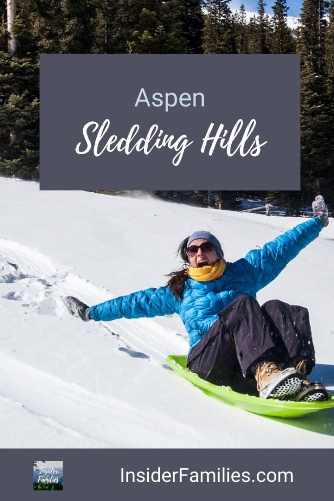Ski resorts are known for skiing but also boast thrilling sledding hills fun for the entire family. Here's where to find the best Aspen sledding hills. #Colorado