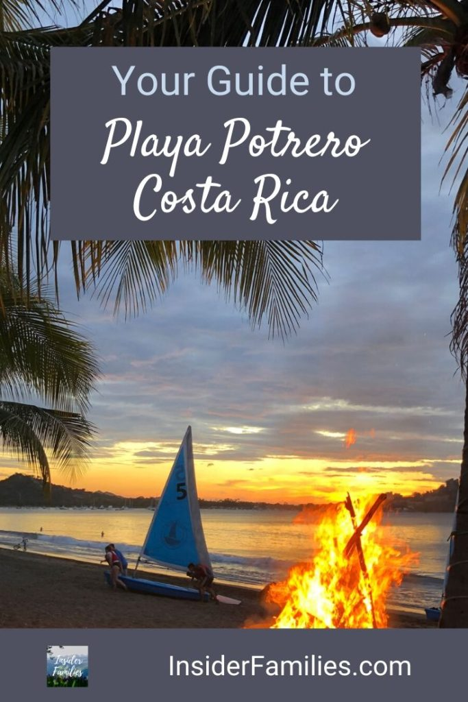 Are you planning a Costa Rica bucket list trip? Be sure to make a stop at a Guanacoste beach town like Playa Potrero! Time seems to slow down in a beach town like Playa Potrero Costa Rica. Friendly people, beautiful sunsets and good food. Here's what to know before you go! #CostaRica #PuraVida