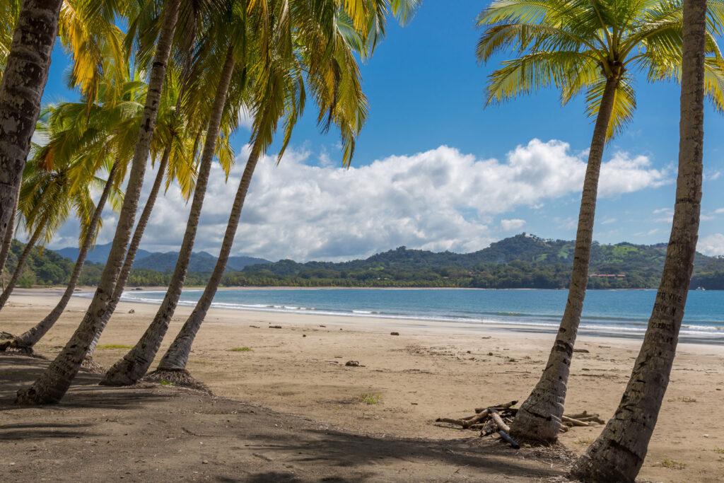 playa samara ome of the best beaches in costa rica