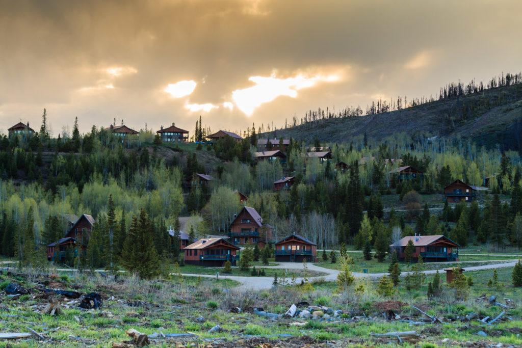 Colorado mountain cabins at Snow Mountain Ranch