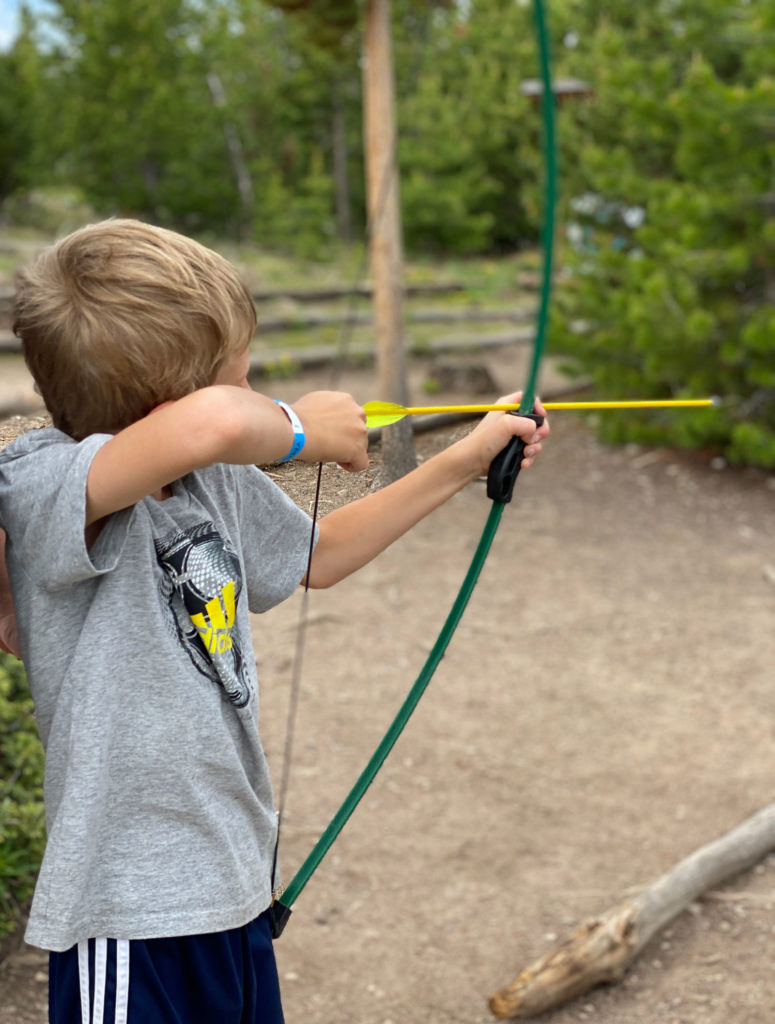 archery at snow mountain ranch