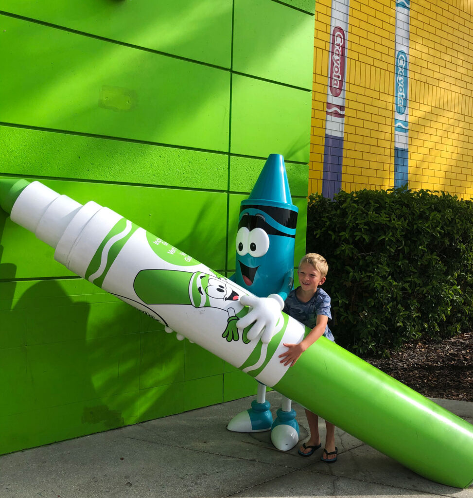 the crayola experience is one of many things to do in orlando besides theme parks
