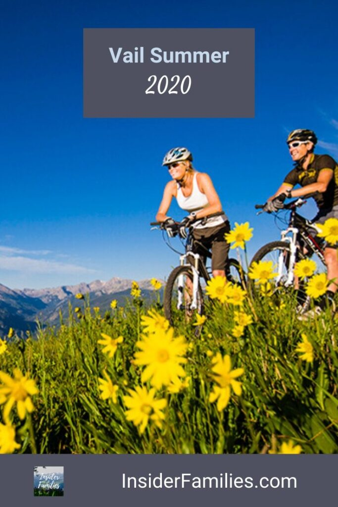 Mountain biking Vail summer 2020