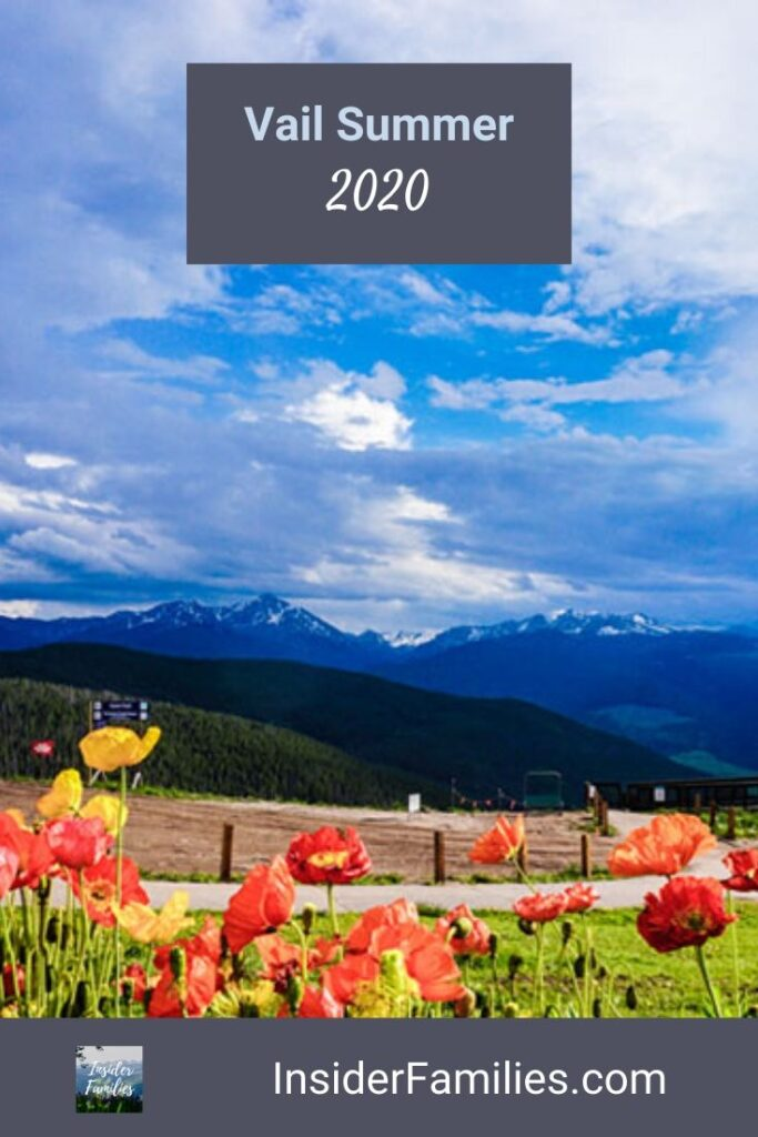 Mountain views in Vail summer 2020