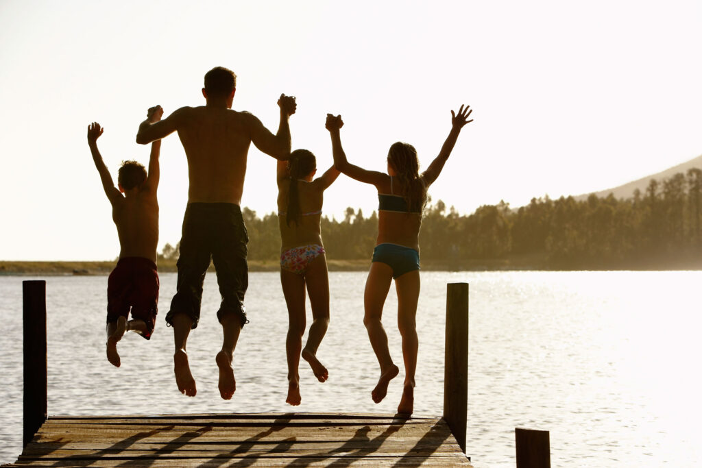 The best lakes in Texas offer a way to cool off on a hot day by jumping into the water