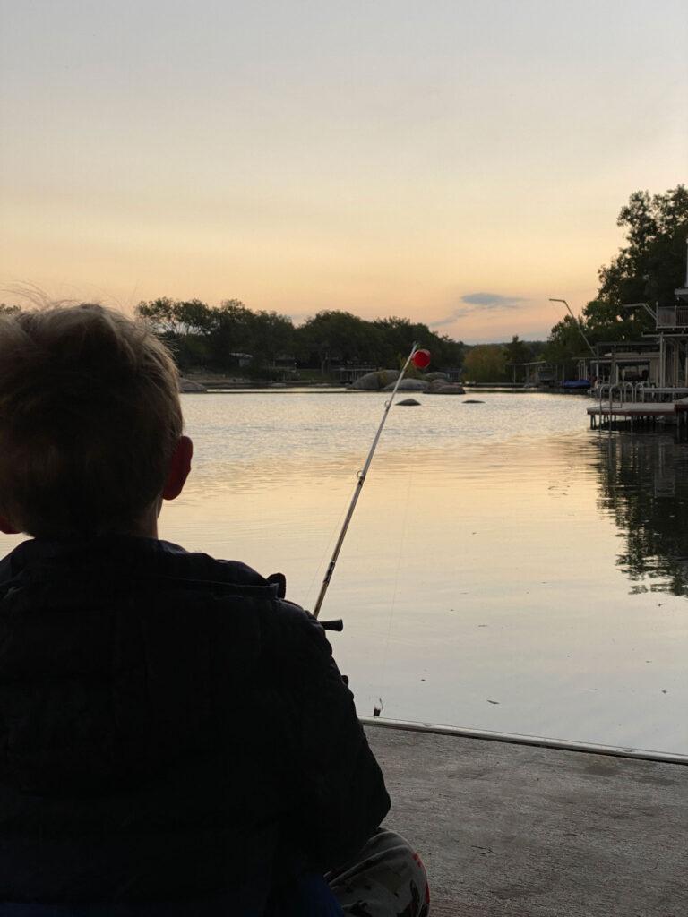 fishing on lake lbj