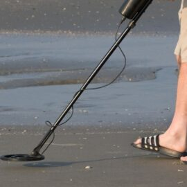 a metal detector tops our list of best gifts for outdoorsy kids