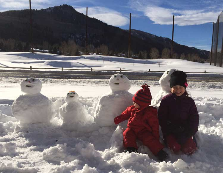 Vail winter should include building snowmen