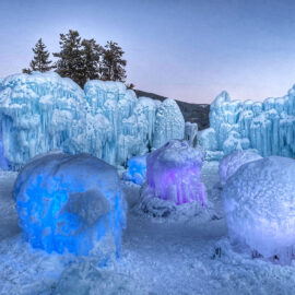 Magical Ice Castles in Colorado