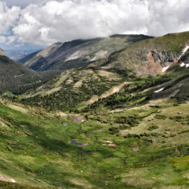 view of independence pass colorado