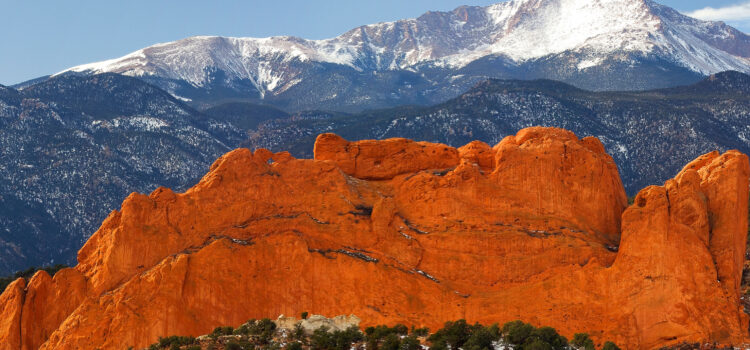 exploring garden of the gods is one of many things to do with kids in colorado springs