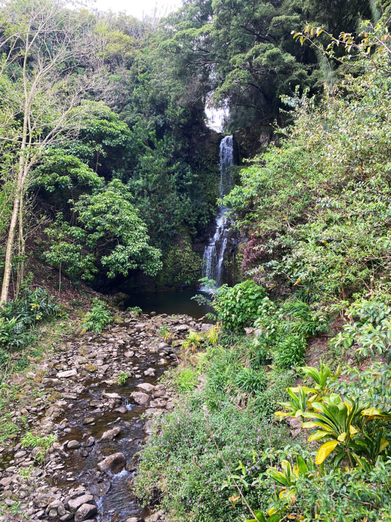 Seeing waterfalls is one of the must do things to do in Kona Hawaii
