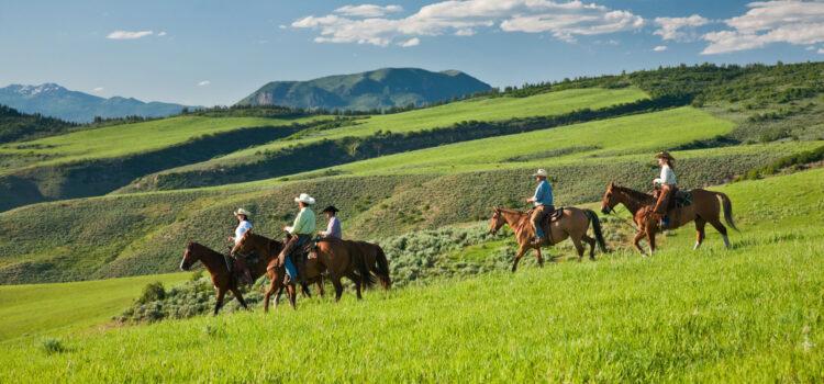 Horseback Riding in Steamboat Springs