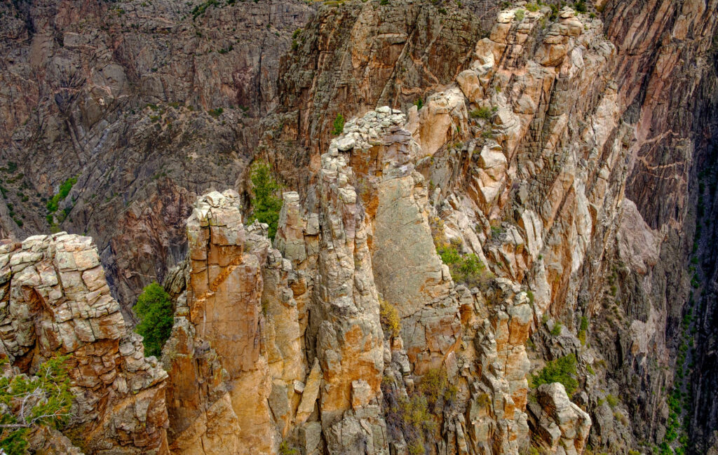 Back Canyon of the Gunnison is one of the most stunning of canyons in Colorado