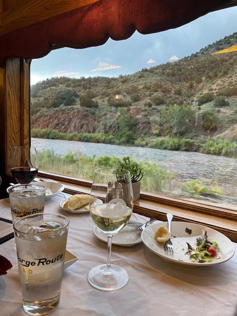 Royal Gorge Railroad one of the scenic Colorado train rides
