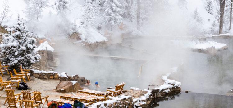 Hot Springs Cabins in Colorado