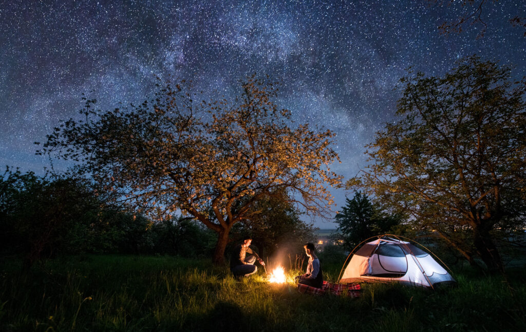night time lights for camping are high on our list of camping gifts for the outdoors woman